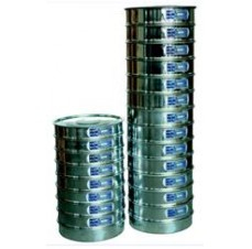 ISO, EN, BS and ASTM sieves.