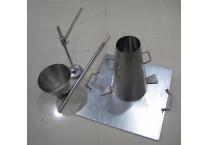 Slump Cone Set  (Stainless Steel )