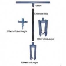Soil and Gravel Auger Heads