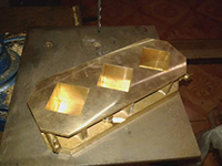 Brass--Mortar-Cube-Mould-Picture