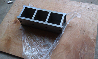 Ciment - Mortier -Test -Mould - Fonte -Material - Professional