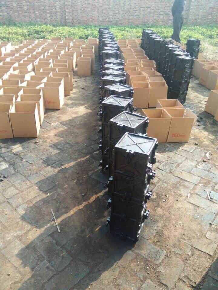 Beton-kocka-kalup-liveno gvožđe-Materijal - Proizvođač