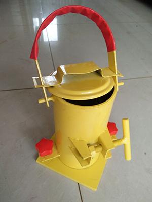 Beton-silinder-vorm-staal-materiaal-Factory