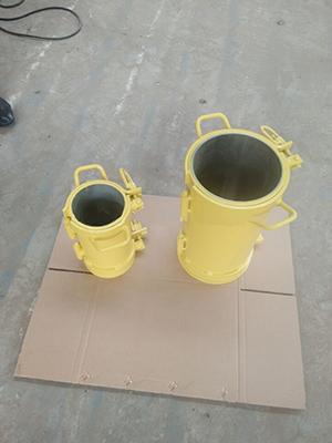 Beton-silinder-vorm-staal-materiaal-'n goeie-gehalte