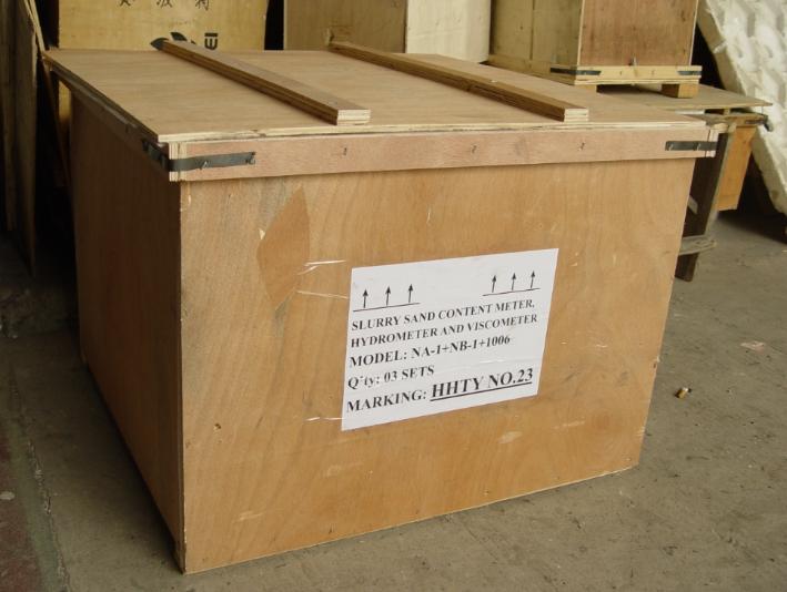Mud -Test -Box Três conjuntos - Fabricante