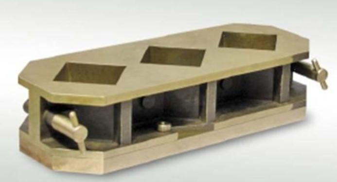 Brass Mortar Cube Mold