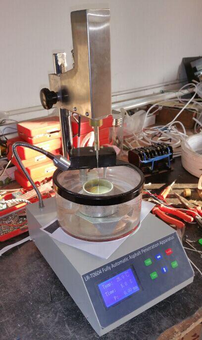 Penetrometro digitale LCD