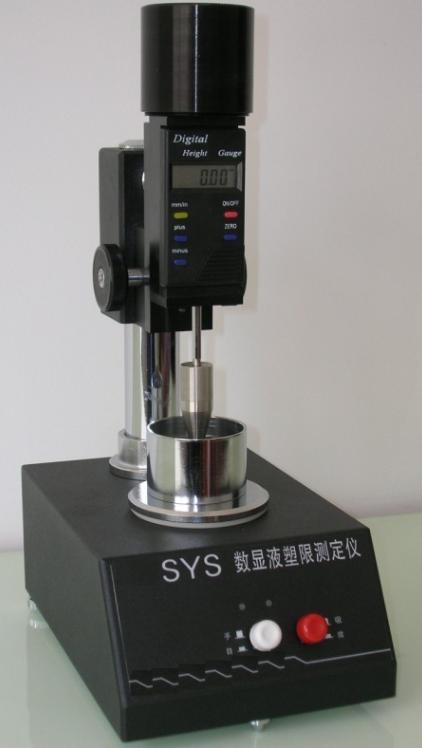 Digitale Liquid en Plastic Toetsapparaat