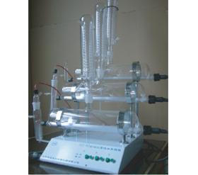 Glas distilleer apparaat vir Pure Water