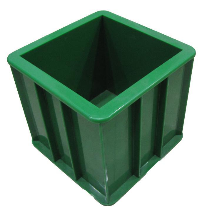 Plastiek Cube Mould