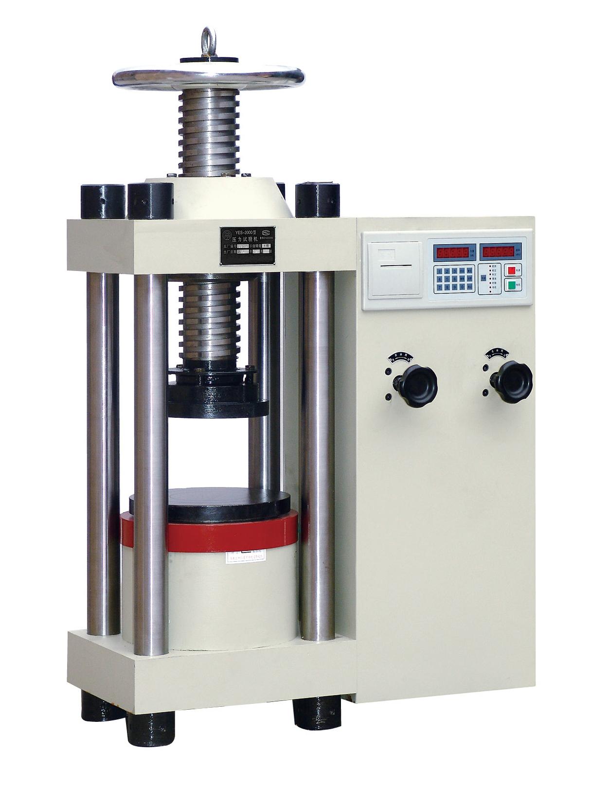 آلة اختبار ضغط شبه أوتوماتيكية