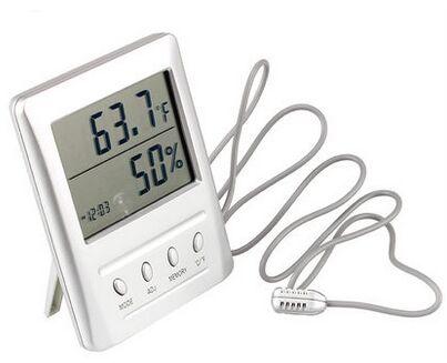 Termometrom i Hydrometer